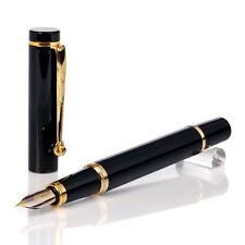 YIREN 679 Gold Black Medium Nib Fountain Pen new