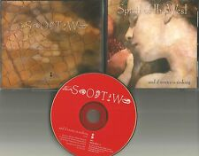SPIRIT OF THE WEST And if Venice is Sinking 1994 PROMO Radio DJ CD single MINT