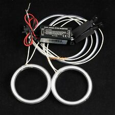 2X C1 FUll 72MM CAR/MOTORCYCLE CCFL ANGEL EYES HALO RINGS BULB LAMP kit- white