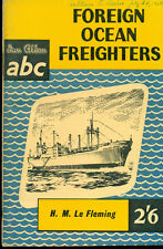 FOREIGN OCEAN FREIGHTERS (1959) Ian Allan ABC pocket-size illustrated SC