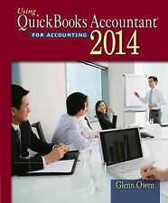 Using Quickbooks Accountant 2014 by Glenn Owen (2014, Paperback)