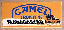 1987 Camel Trophy Adventure Rally Madagascar Land Rover Off Road Sticker