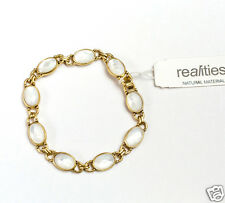 "Liz Claiborne Realities Natural Materials Bracelet 7"" New With Tag Signed $35.00"