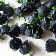 10Pcs Artificial Rose Flower Heads Craft DIY Bride Wedding Party Birthday Decor