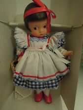 "Storybook doll: Effanbee  8-1/2"" vinyl PATSYETTE as 'Dorothy'  LC-370"