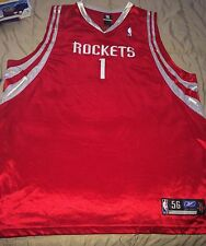 Authentic On Court Tracy McGrady Rockets Jersey Sz56