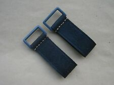 WW2 German Y-straps or belt Leather D-ring Reproduction