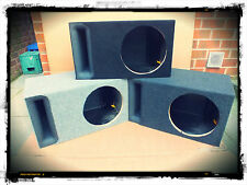 "THE BEST 12"" Inch Slot Ported Carpeted Subwoofer Sub MDF Box Bass Enclosure NEW"