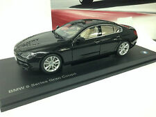 2014 BMW 6 SERIES F06 Grand Coupe  Black Sapphire 1/18th    Factory BMW Diecast