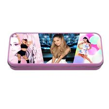 Ariana Grande Pink Metal Tin Pencil School Case