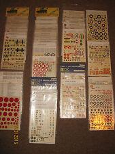 Lotto Decals Vintage Esci 1/72 - Aerei - Vendibili anche singolarmente