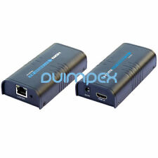 HDMI extender via LAN cat5 cat6 rj45, cable de red infinito amplificador 1080p