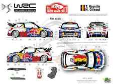 [FFSMC Productions] Decals 1/24 Citroën DS3 WRC Neuville Monte-Carlo 2012
