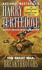 Breakthroughs by Harry Turtledove (The Great War #4) (2001 Paperback) DD768