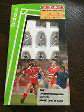 Subbuteo LW Team - Ref. 666 Queens Park Rangers / Morton / Racing Club De Paris