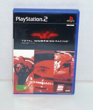 JEU PS2 COMPLET TOTAL IMMERSION RACING    REF 48