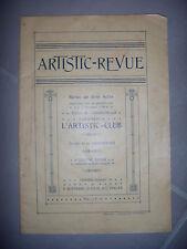 Clermont l'Hérault: Artistic Revue: Revue en trois actes, 1920, BE