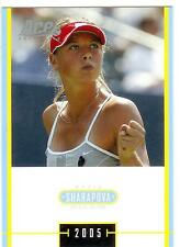 2005 ACE JAPAN HOLIDAY MARIA SHARAPOVA RC #MS-21 ROOKIE SPECIAL EDITION
