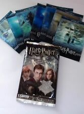 HARRY POTTER HOGWART'S LENTICULAR 3D OPEN TRADING CARDS! SET OF 7! 2ND EDITION