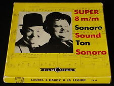 *** FILM SUPER 8 NB SONORE/75 METRES - LAUREL ET HARDY A LA LEGION ***