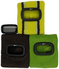 New Nike Cuff 3pc WR0094 Brown Lymon Green Sports Arm Band Watch
