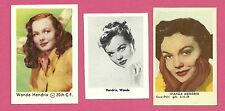 Wanda Hendrix Fab Card Collection American film and television actress