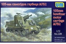 UNIMODELS 228 1/72 105mm howitzer motor carriage M7B2
