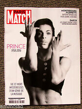 Rare New Paris Match France French Magazine April May 2016 Prince Cover