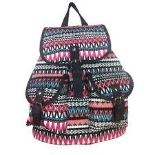 Vintage Canvas Backpacks Satchel Rucksack School Bags Travel Camping Bags UK Hot