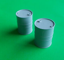 50 Gallon Oil Drum in 1/32nd Scale.  Model Boat Fittings.