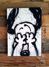 Snoopy I Can't Believe My Eyes Tom Everhart Print Mounted 9 x 12""