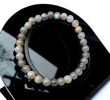 Bracelet en Labradorite en Pierre Minéral Naturelle Bijoux Lithothérapie Femme
