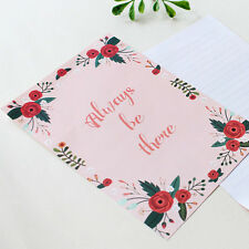 Always be there - Letter set 4sh Lined writing stationery paper 2sh Envelope