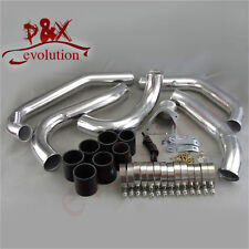 For Mazda RX7 RX-7 FC FC3S 13B 86-91 Front Mount Intercooler Pipe Kit Black