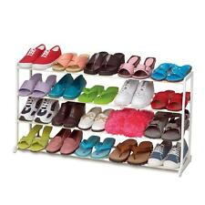 20 Pair 4 Tiers Home Portable Closet Storage Organizer Cabinet Shelf Shoe R