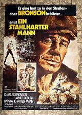 EIN STAHLHARTER MANN / HARD TIMES * Bronson - A1-FILMPOSTER -Ger 1-Sheet ´75