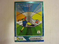 2014 Panini National Convention VIP FIFA World Cup Blue Prizm Host City Brasilia