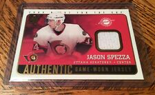 2002-03 Pacific Quest For The Cup Authentic Game Worn Jersey Jason Spezza #14