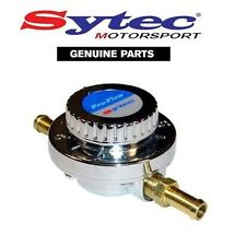 Sytec REGOLABILE 1-5 PSI CARBURANTE REGOLATORE DI PRESSIONE PER CARBURATORI 8mm (CARB)