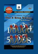 Golf Channel: Jim McLean The 8 Step Swing DVD VIDEO Golf Tips Drills NEW