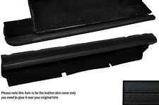BLACK STITCH UNDER DASH STORAGE TRAY LEATHER SKIN COVERS FITS PORSCHE 928 S2 S4