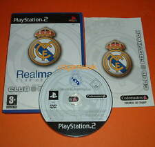 PS2 (60GB PS3) - Real Madrid Club Football 2003/04 - FAST POST - Excellent