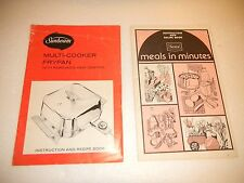 Sears Sunbeam Recipe and Instruction Books-Lot of 2