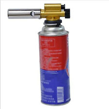 New Gas Torch Flamethrower Butane Burner Auto Ignition For Outdoor Picnic