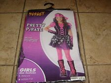 MONSTER HIGH PIRATE  GIRL HALLOWEEN COSTUME DRESS COSPLAY SIZE SMALL 4-6 NEW MIP