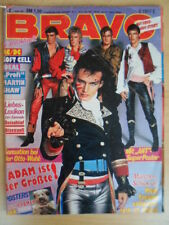 BRAVO 2- 7.1. 1982 (2) ANT Meatloaf AC/DC Soft Cell ABBA-Teens-Poster L.Matthäus