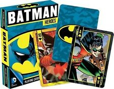 Batman Heroes Nightwing Robin DC Comics Licensed Playing Cards Deck Of 52 Poker