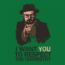 MEDIUM BREAKING BAD T-SHIRT HEISENBERG WALTER JESSE FIFTH SEASON FOURTH TV SHOW