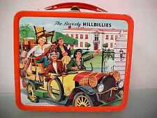 Vtg 1963 The Beverly HILLBILLIES TV Show Metal Lunchbox *Nice Display granny jed