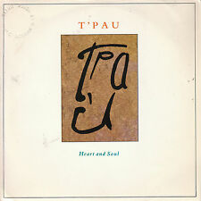 "7"" 45 TOURS FRANCE T'PAU ""Heart And Soul / On The Wing"" 1987"